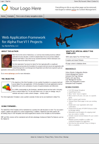 Alpha Web Application Framework